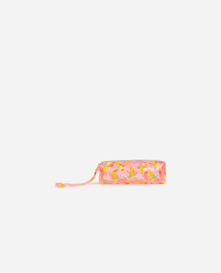 Banana print toiletry bag