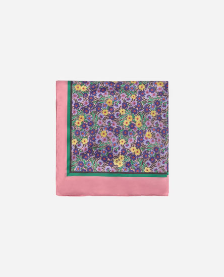 Floral print headscarf