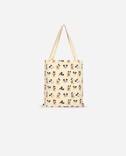 Bolso shopper estampado Mickey Mouse © Disney