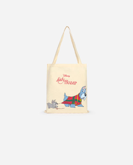 Lady and the Tramp © Disney tote bag