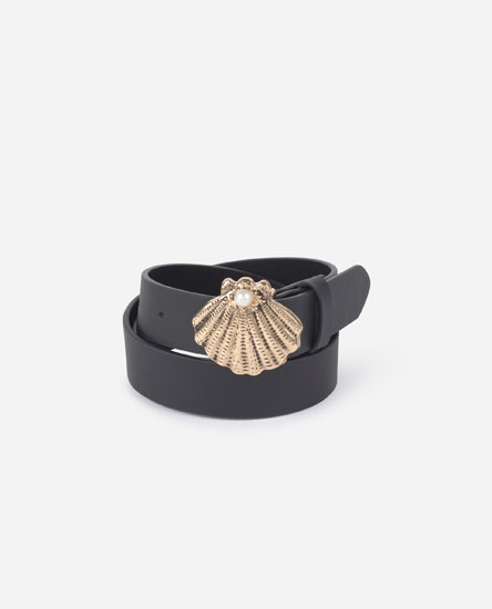 Seashell belt
