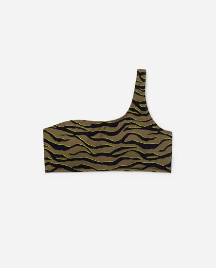 Asymmetric bikini top