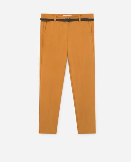 Pantalón chinés cinto