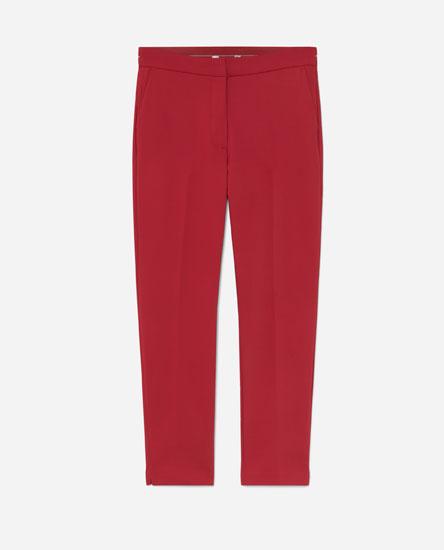 Stretch-waist trousers