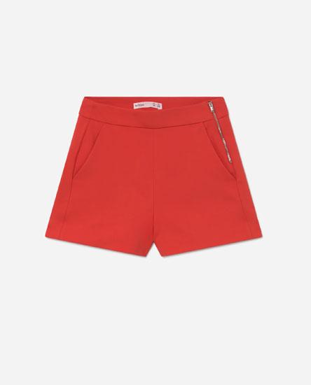 Pantalón curto chinés