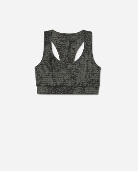 Printed bra