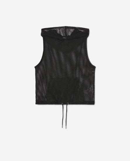 Camiseta rede capucha