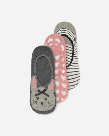 Pack footies estampados