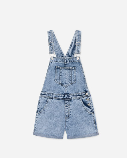 Peto curt denim