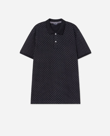 Camisa polo com estampado