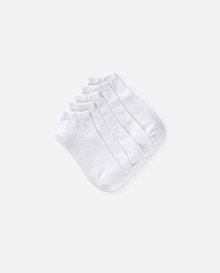 Pack of 5 short socks
