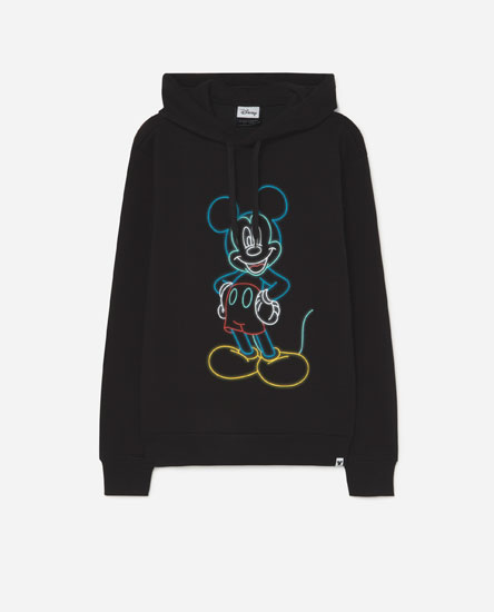 Neon Mickey Mouse © Disney hoodie