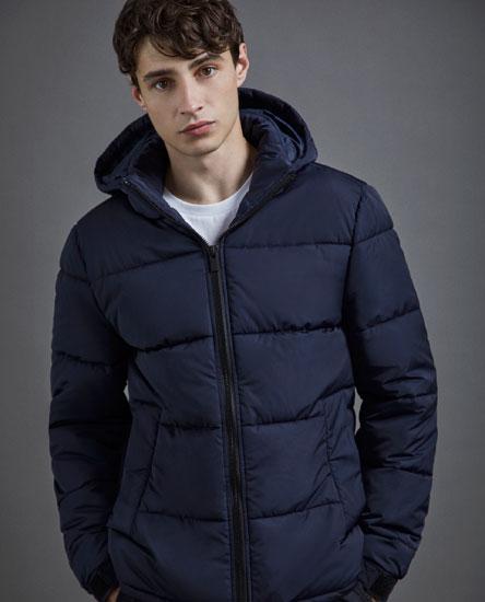 Куртка с контрастной молнией