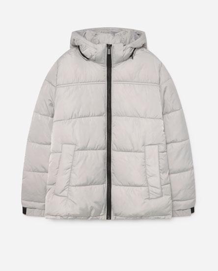 Jacket with contrast zip