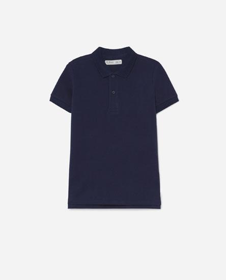 Coloured polo shirt
