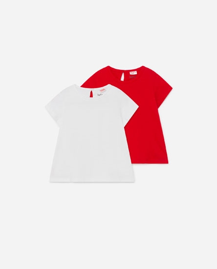 Pack of short sleeve T-shirts