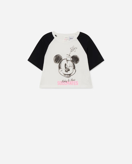 Camiseta Minnie cropped © Disney