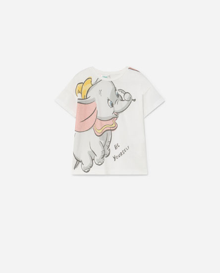 T-shirt do Dumbo com glitter © Disney
