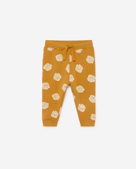 Retro plush trousers