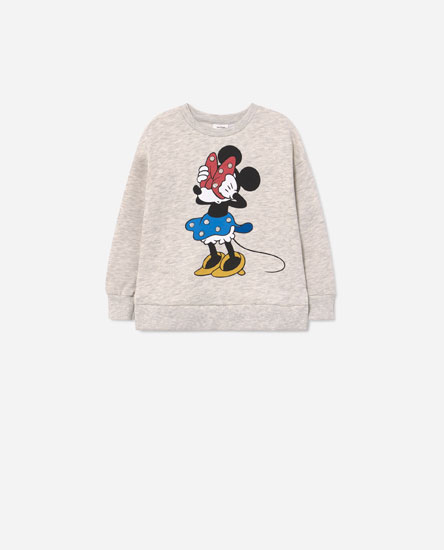 Minnie Mouse © Disney beaded sweatshirt