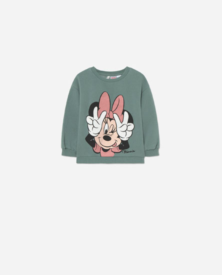 © Disney Minnie Mouse glitter sweatshirt