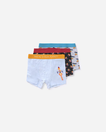 Pack of 3 embellished print boxers