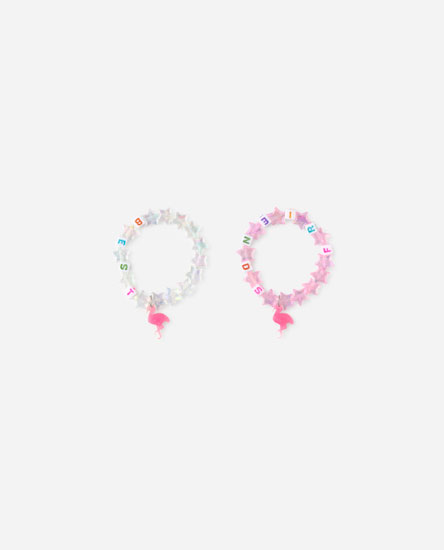 Pack of best friend bracelets'