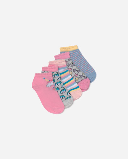 Pack of unicorn socks