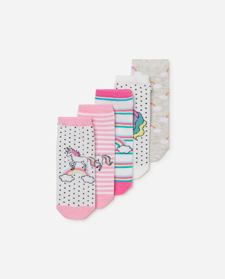 Pack calcetines unicornio