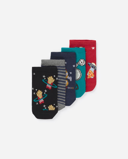 Pack of embellished socks