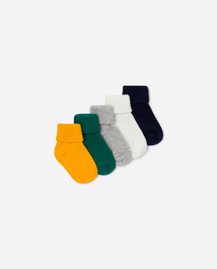 Pack of 5 socks