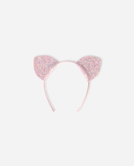 Glittery rigid headband