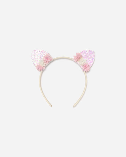 Glitter hairband with ears