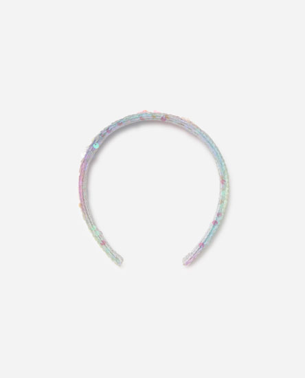 Sequinned headband