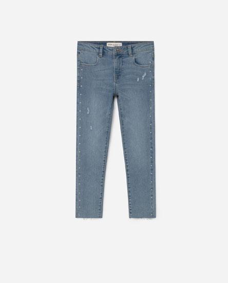 Jeans detalle chatolas
