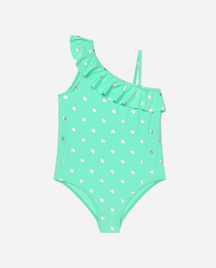 Unicorn print swimsuit