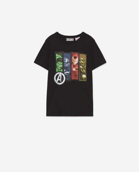 T-shirt dos Avengers