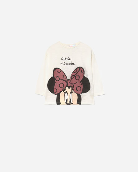 Minnie glitter © Disney t-shirt