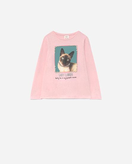Camiseta print animales