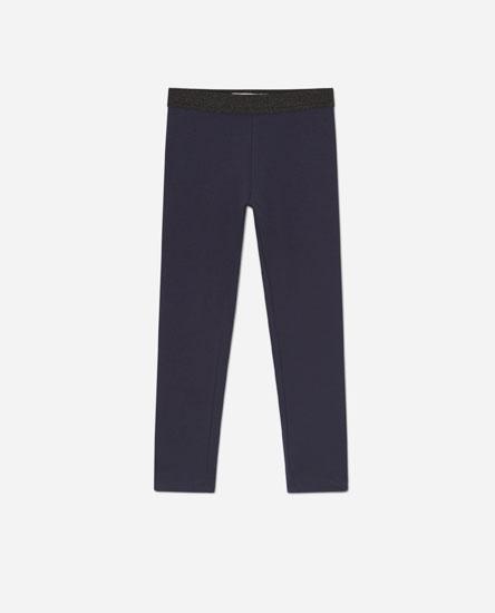 Leggings cintura elàstica purpurina
