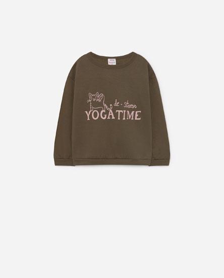 Sweatshirt com posicional
