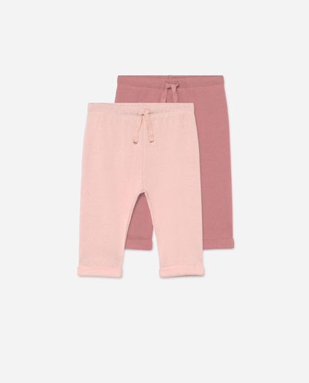Pack of plush trousers
