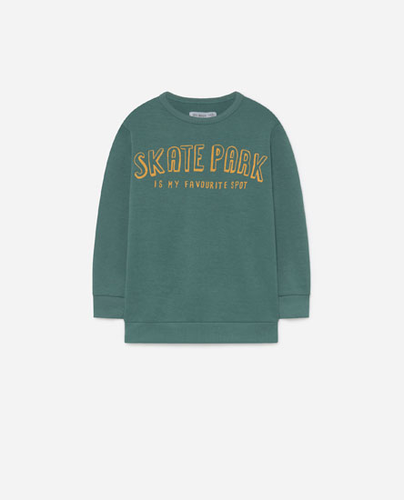 Text sweatshirt