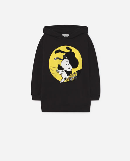 Sweatshirt com capuz do Snoopy