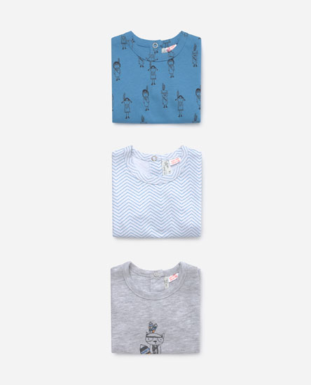 Pack of short sleeve sleepsuits