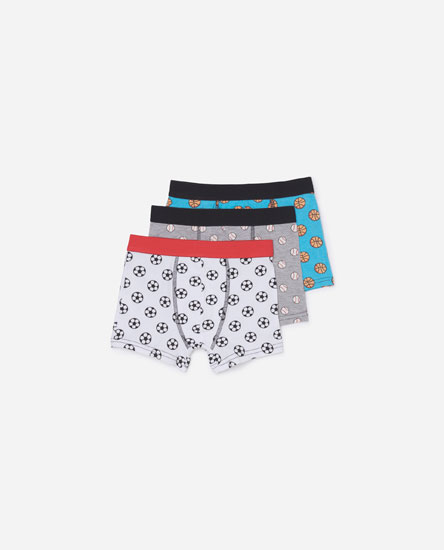 Pack of sports boxers