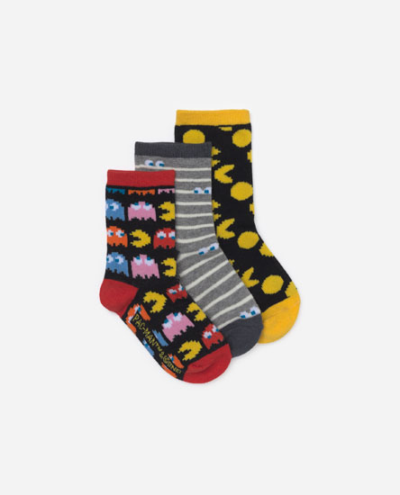 Pack of 3 Pacman socks