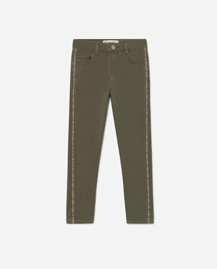 Jeans franxa glitter