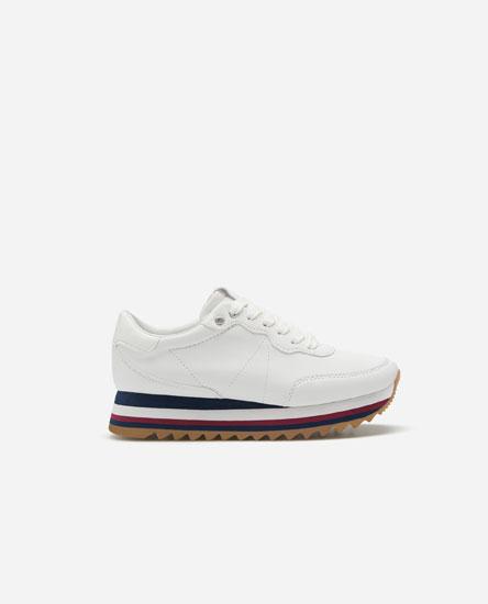 Monochrome sneakers