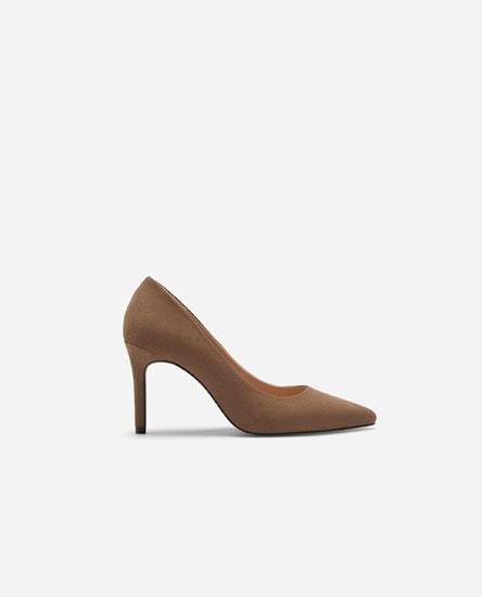 Базовые туфли на каблуке
